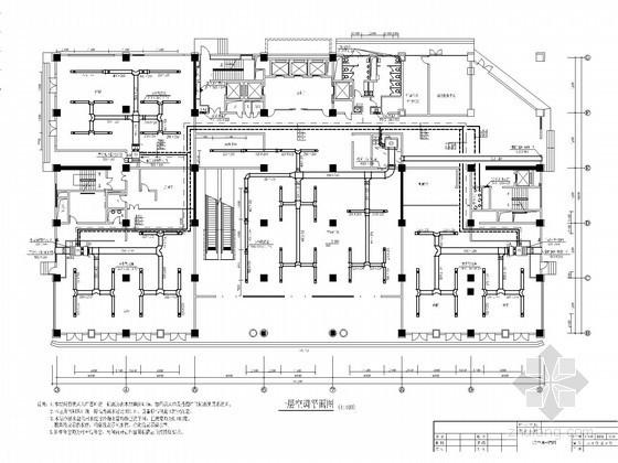 [湖北]某商务大厦空调通风及防排烟系统毕业设计