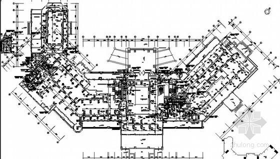 [青岛]国际海鲜城空调通风设计施工图(海水源热泵)