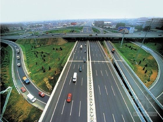 城市环线辅道拓改工程交通工程施工图51张CAD(附照明)