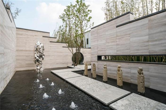 新中式园林|谁说新中式逃不开的千里江山