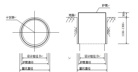 基坑支护工程(抗滑桩、锚杆、挡板)施工方案Word版(共44页)_1