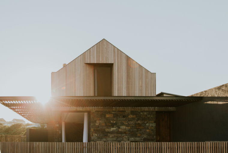 南非海岸线传统的独户家庭住宅-2
