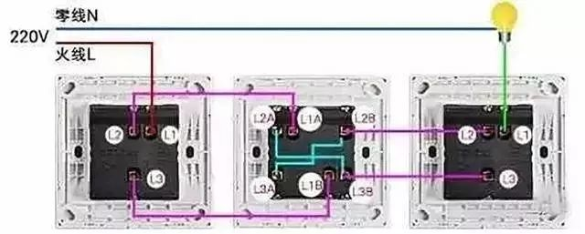 家庭电路控制系统大全,开关控制电路大全,值得收藏!_3