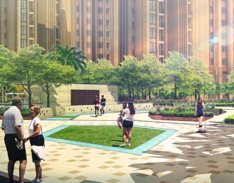 [重庆]西郊医院城市高层住宅景观方案设计文本(PDF+66页)