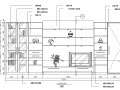 CAD室内设计及施工图常用图块之客厅立面图