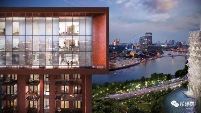 """27米长的""""空中泳池"""",在两栋大楼的第10层连接在一起,中间完全_17"""