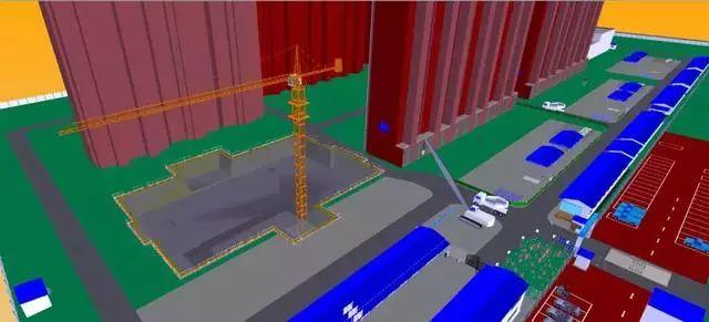 BIM技术在基坑与脚手架施工中的运用与分析_7