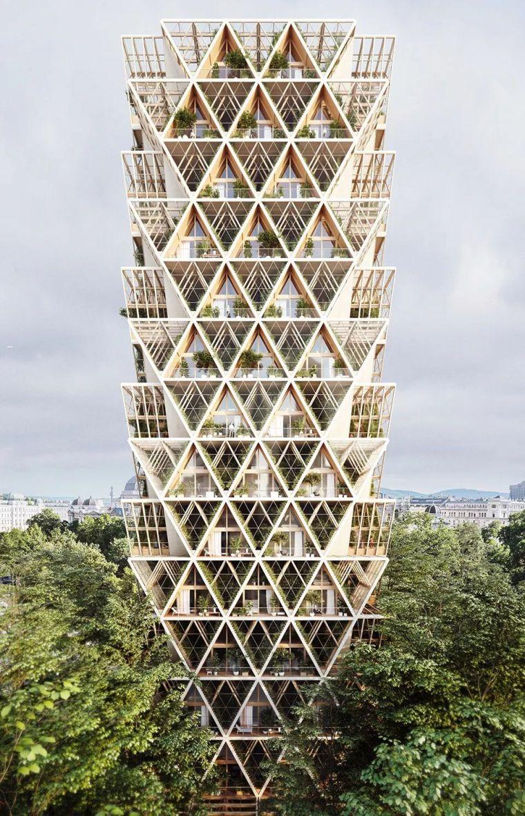拥有独立生态系统的大楼-城市中的垂直农场_5