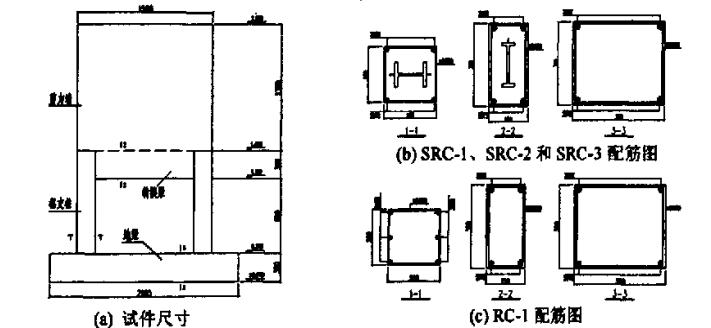 型钢混凝土高层框支剪力墙结构抗震性能