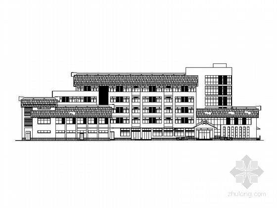 [合集]5套福利中心养护楼及社会福利院中心(老人疗养院)图纸