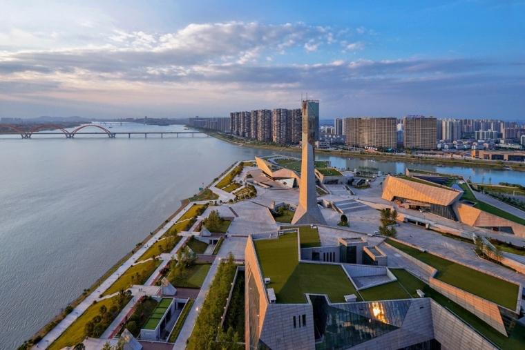 长沙滨江文化园(长沙三馆一厅)/华南理工大学建筑设计研究院陶