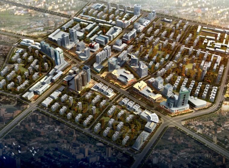 [甘肃]庆阳市北部城区控制性详细规划设计方案文本
