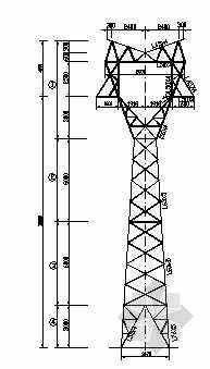 7725铁塔全套结构图纸