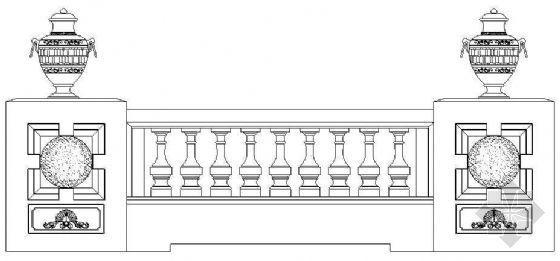 欧式栏杆详图37