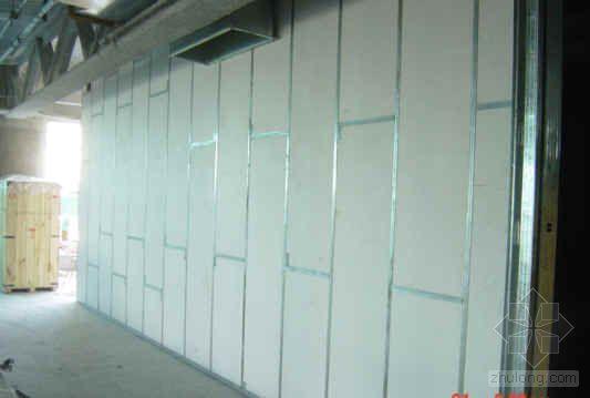 北京某大厦轻钢龙骨隔墙施工方案(长城杯)