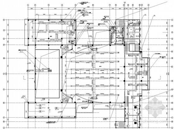 小型影剧院空调通风排烟系统设计施工图(VRV系统 风冷热泵系统)