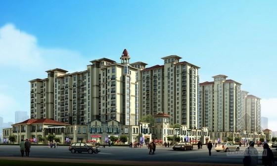 [山东]住宅区规划及单体设计方案文本
