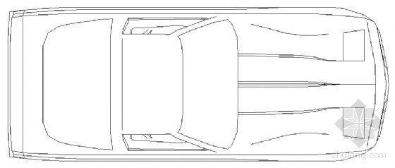 cad车模型