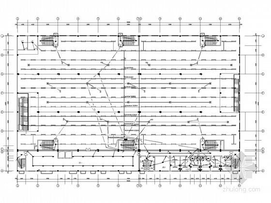 中型百货商场电气施工图纸