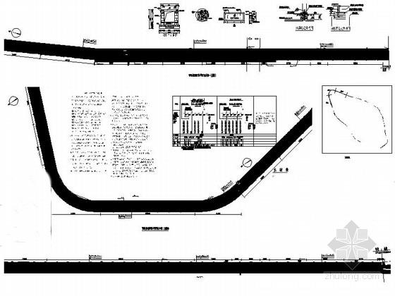 [温州]城市道路景观绿化设计施工图