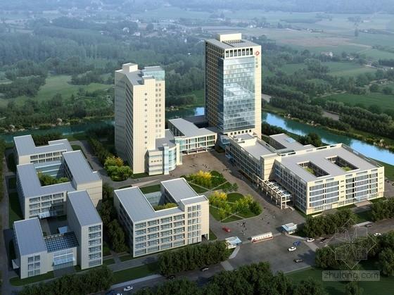 [江苏]现代风格综合性医院规划及单体建筑设计方案文本(知名设计院)