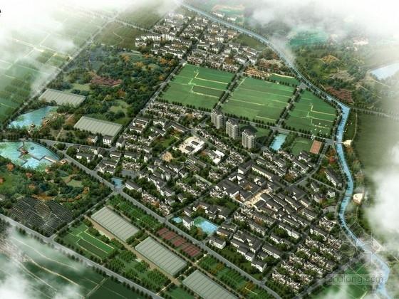 [浙江]传统旅游休闲特色农庄规划设计方案文本(含别墅 风貌街等)
