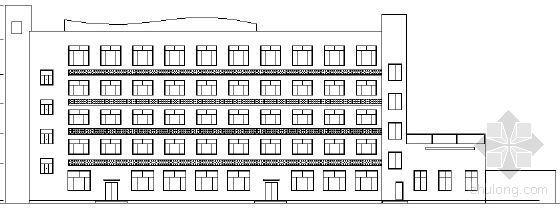 [上海]某旧厂房改造工程建筑方案图