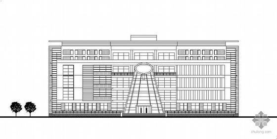 上海某职业技术学院规划及各单体建筑设计建筑施工图