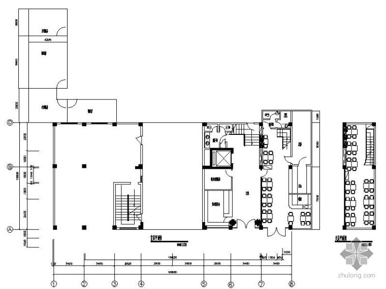 [广西]某酒店室内装饰工程设计施工图