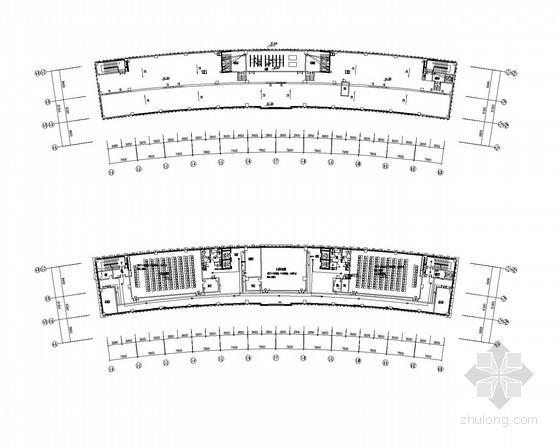 [江苏]高层办公楼强弱电全套施工图纸(含机房工程、楼宇自控、车库管理系统)