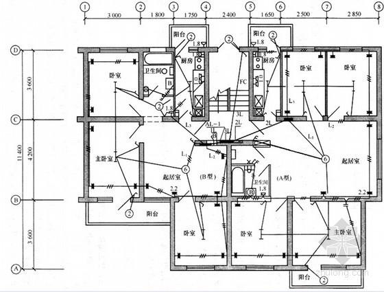 造价编制实例:某电气照明工程清单计价编制