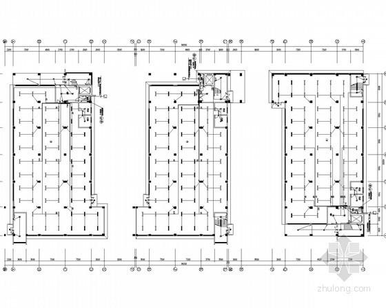 [安徽]工业厂房电气施工图(甲级院设计)