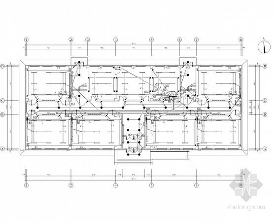 [新疆]某小学电气施工图(含值班室)