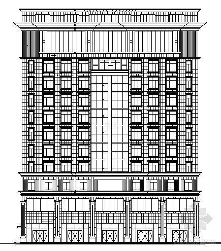 某十三层写字楼建筑施工图