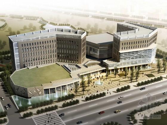 [成都彭州]某文化馆项目建筑方案文本