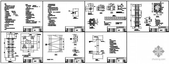 佛山市某楼柱结构补强工程图纸
