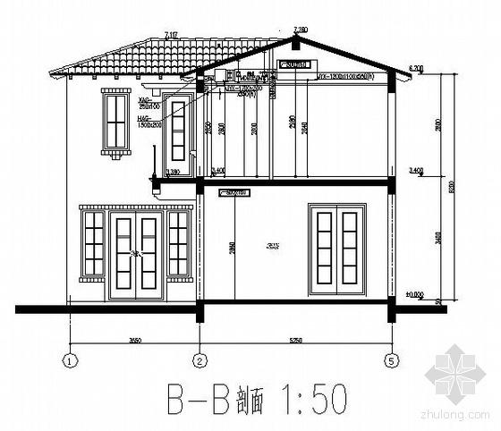 某297平米二层别墅中央空调施工图
