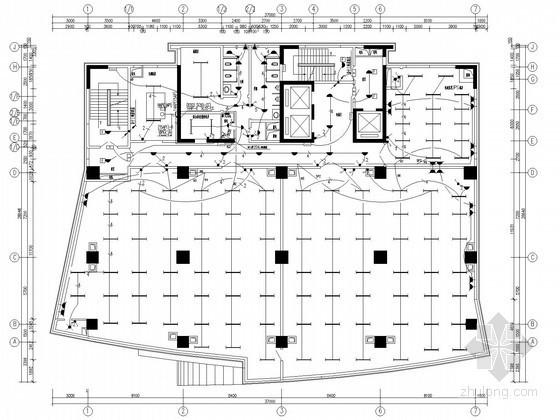 [广东]十九层通信办公综合楼全套电气施工图纸77张