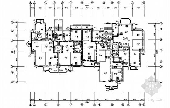 某小区小高层住宅水暖施工图