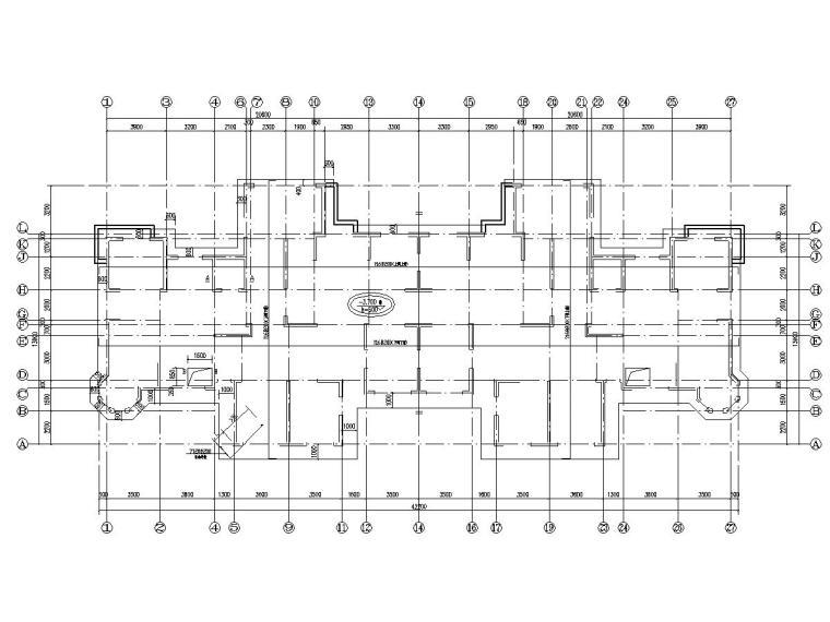 [鄂尔多斯]九层剪力墙结构住宅楼结构施工图