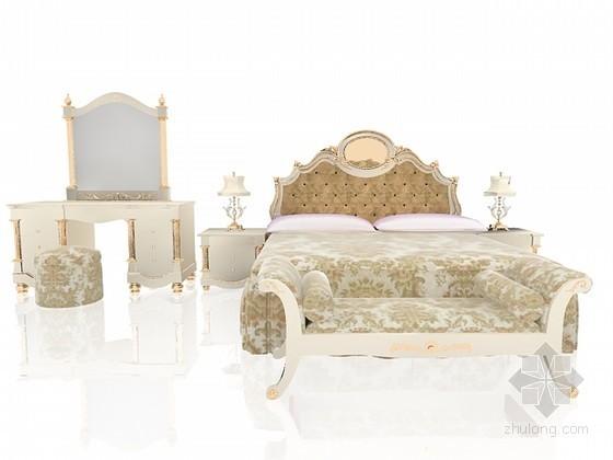 欧式床家具组合