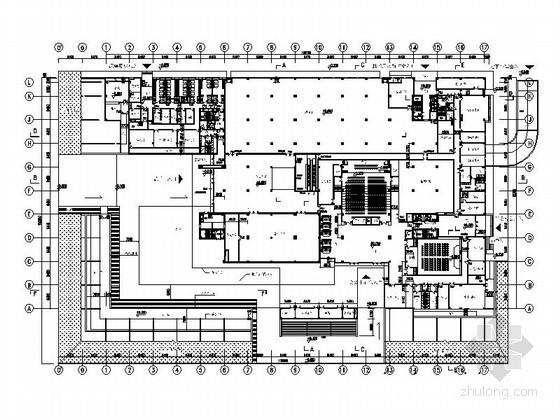 某省七层档案馆建筑方案图