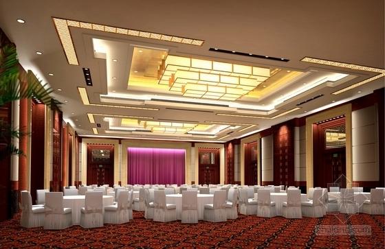[宜昌]01经济开发区核心地带五星级商务酒店方案设计 多功能厅