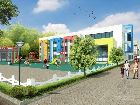 [浙江]2015年中心幼儿园建筑安装及室外配套工程预算书实例(含全套施工图纸)