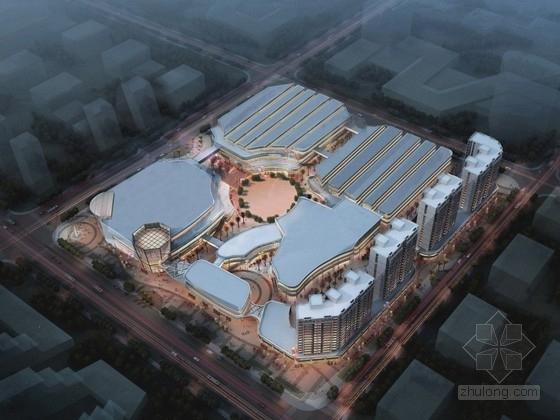 [江苏]商业区规划及单体设计方案文本