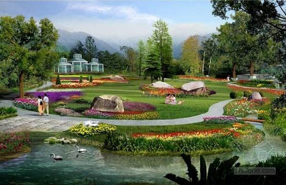 [山东]2015年生态植物园景观绿化工程预算控制价实例