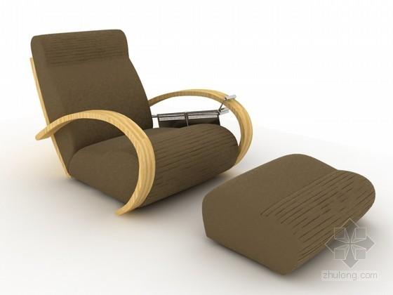 沙发躺椅3d模型下载