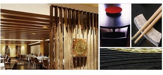 [北京]简约中式艺术酒店室内设计概念方案-[北京]简约中式风格艺术酒店室内设计概念方案餐饮概念图