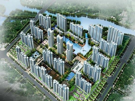[无锡]某港住宅小区规划方案设计方案及文本