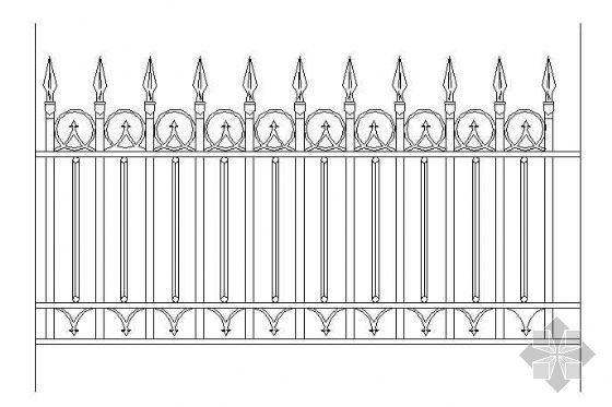 铁栅围墙-7